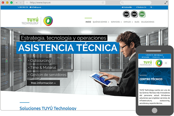 Web de Tuyú Technology