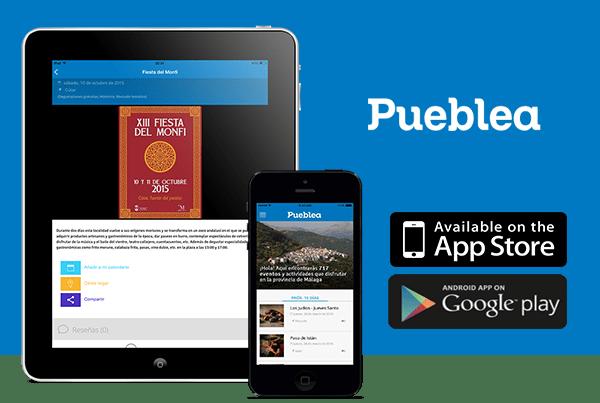 Pueblea: APP para móviles, tablets y web