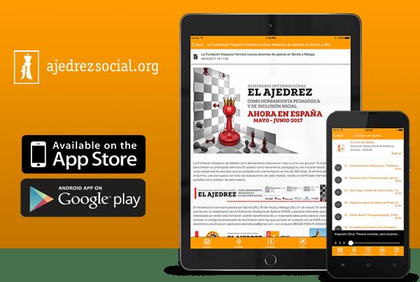 Ajedrez Social: APP para móviles y tablets